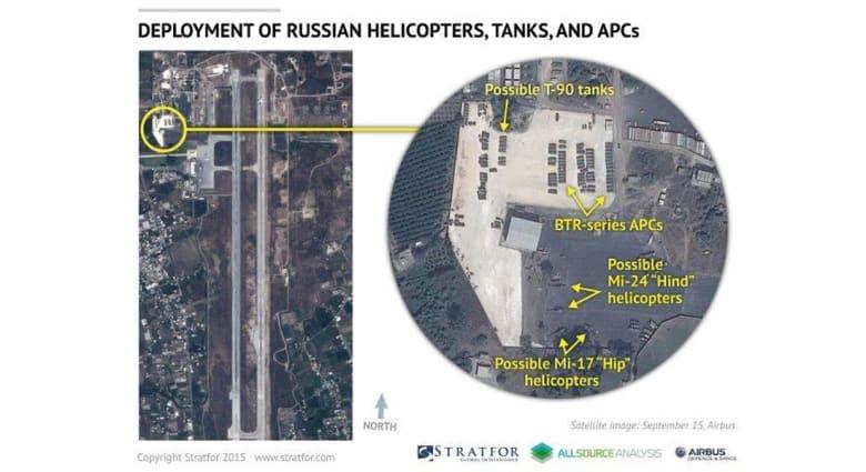 مسؤول أمريكي يبين لـCNN ما أرسلته روسيا من عتاد عسكري إلى سوريا حتى اللحظة