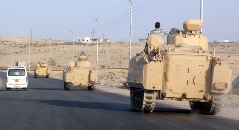 """جيش مصر يعلن انتهاء أولى مراحل """"حق الشهيد"""" ويتوعد باستكمال العملية لتحقيق كافة أهدافها"""