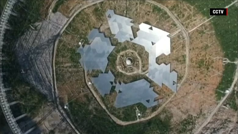 الصين تبني أكبر تلسكوب لاسلكي في العالم بحثاً عن مخلوقات فضائية