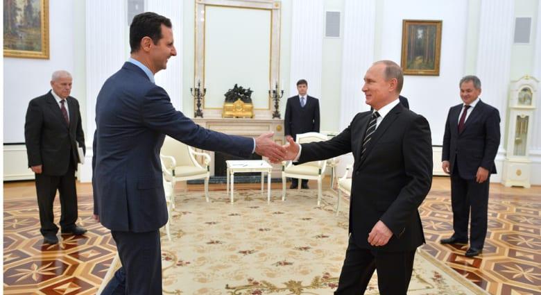 """موسكو: نبحث مع واشنطن مشاركة """"المعارضة الوطنية"""" في جهود تسوية الأزمة.. والأسد: الموقف الروسي كتابة تاريخ جديد"""