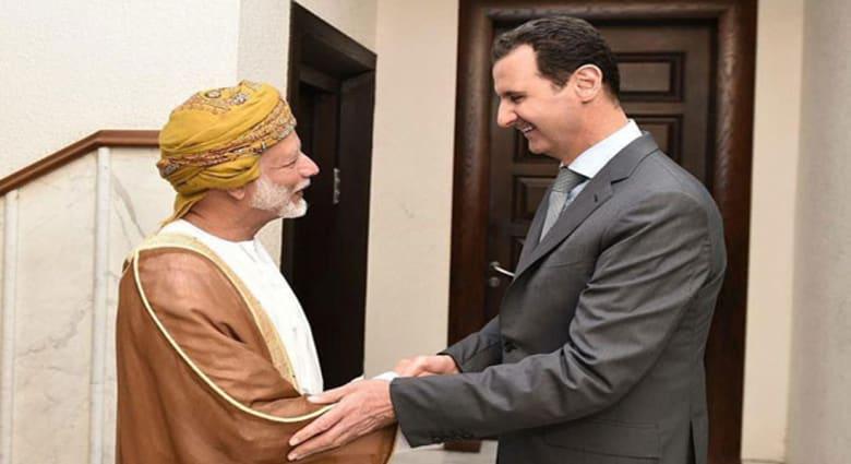 """بن علوي في زيارة مفاجئة لدمشق.. هل تنهي مسقط """"القطيعة"""" الخليجية لنظام الأسد؟"""