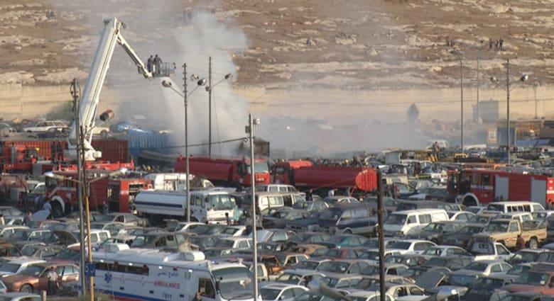 الأردن.. 8 قتلى بينهم 5 مصريين في انفجار شاحنتين محملتين بالألعاب النارية بجمرك عمان