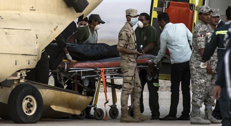 تحطم الطائرة الروسية.. استعادة 163 جثة والبحث جار.. وحظر التواجد أو إجراء أي تدخلات بموقع الحادث