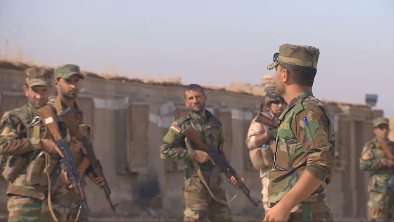 """بالفيديو.. الأيزيديون يخوضون """"معركة وجود"""" ضد داعش في جبال سنجار"""