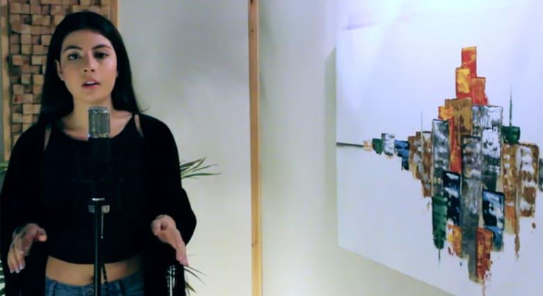 """أغنية لـ""""فيروز وأديل"""" بصوت فتاة فلسطينية تحقق مشاهدات تقارب المليون على يوتيوب"""