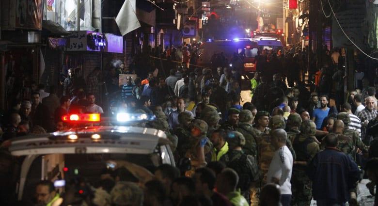بالفيديو.. نشطاء يتداولون تسجيلا قالوا إنه للحظة إلقاء القبض على الانتحاري الرابع بتفجيري بيروت