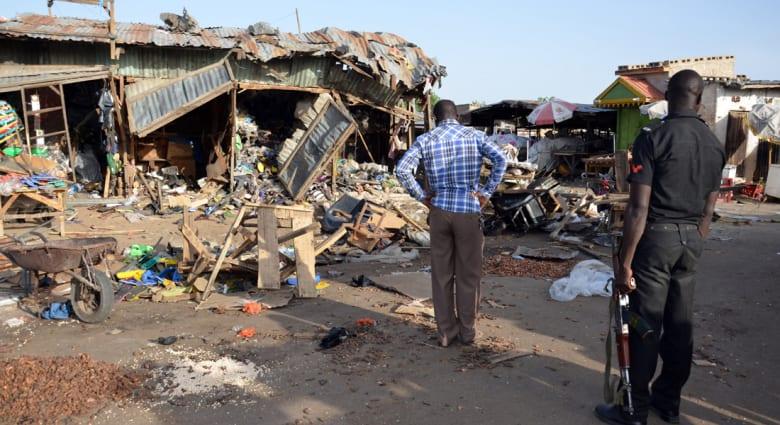 الصليب الأحمر: مقتل وإصابة العشرات بانفجار قنبلة شمال شرقي نيجيريا