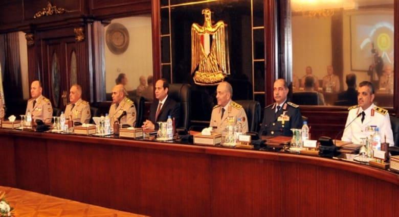 بعد يومين من اجتماع مجلس الأمن القومي.. السيسي يترأس اجتماعاً للمجلس الأعلى للجيش المصري