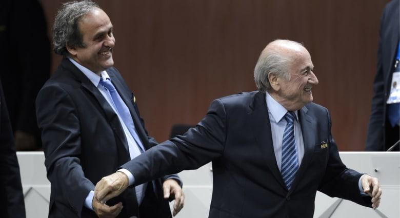 لجنة الاستئناف بالفيفا ترفض طعن بلاتر وبلاتيني على قرار إيقافهما