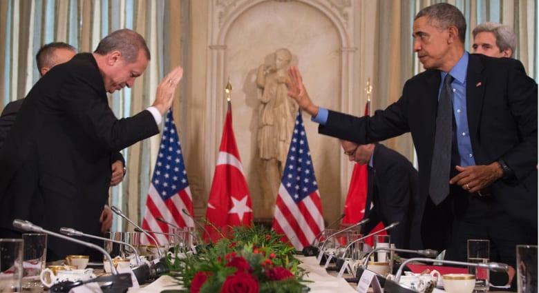 أوباما: ندعم حق تركيا في الدفاع عن نفسها.. وأردوغان: نريد السلام وحل الأزمة مع روسيا بالدبلوماسية