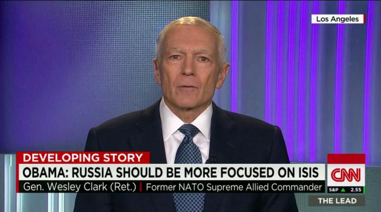 قائد الناتو السابق لـCNN: بوتين يريد ترك العالم بين خياري الأسد وداعش.. وسوريا بين تابع لإيران أو دولة سنية
