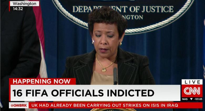 أمريكا توجه اتهامات بالفساد إلى 16 مسؤولا بالفيفا
