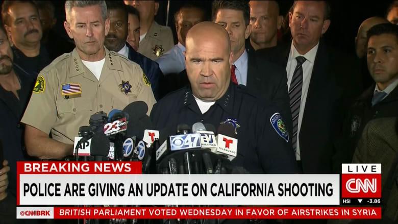"""أمريكا: سيد فاروق أول مشتبه به في حادثة إطلاق النار بسان برناردينو.. والعثور على """"قنبلة أنبوبية"""" محتملة في سيارتهما"""