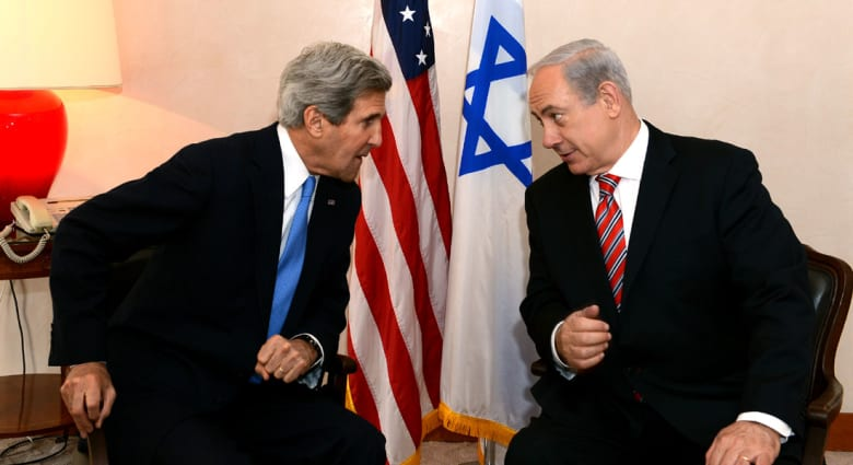 """نتنياهو يرد على تحذيرات كيري: إسرائيل لن تصبح ثنائية القومية والحل بـ""""دولة فلسطينية منزوعة السلاح"""""""