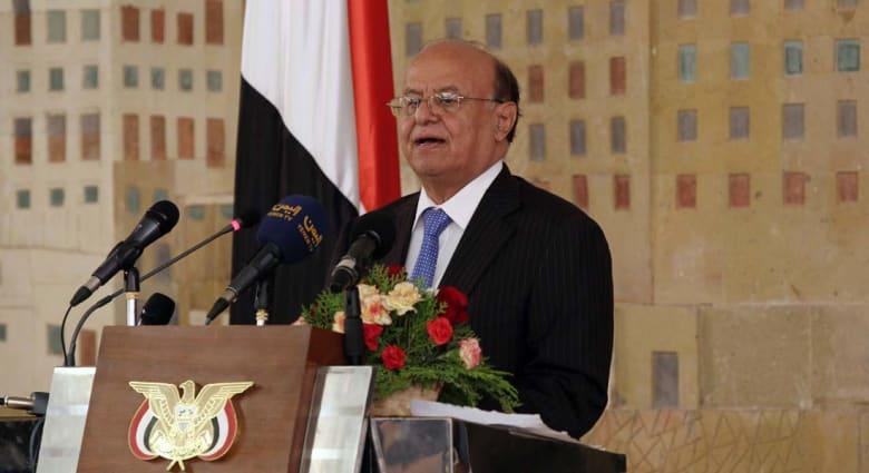 الرئيس اليمني يعتزم طلب هدنة إنسانية يتخللها وقف إطلاق النار مع بداية مشاورات جنيف