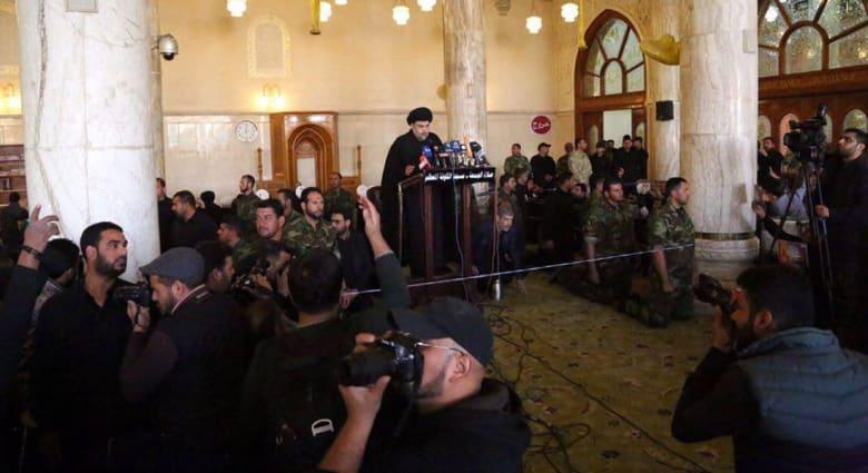 """الصدر يتهم شيخ الأزهر بإعطاء """"داعش"""" الضوء الأخضر لـ""""قتل الشيعة"""".. ويهدد بمحاربة """"الاحتلال التركي"""""""