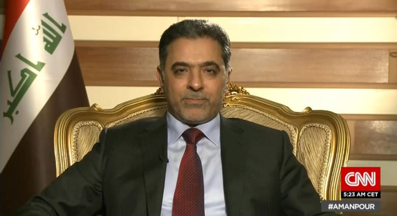 وزير داخلية العراق لـCNN: جهود إقناع تركيا للانسحاب من أراضينا مستمرة.. وداعش لم يعد بإمكانه المقاومة