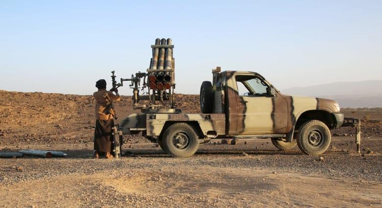 قوات التحالف العربي تعلن إسقاط صاروخين تم إطلاقهما من اليمن في اتجاه السعودية