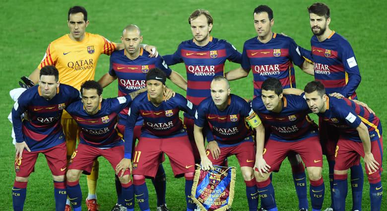 بالصور.. برشلونة يتوج بلقب كأس العالم للأندية بفوزه على ريفير بليت بثلاثية نظيفة