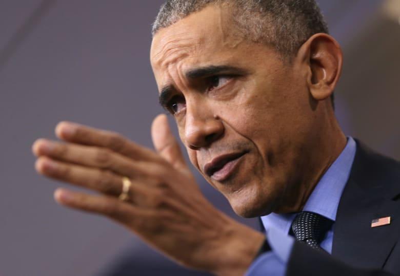 """أوباما: ترامب يستغل مخاوف اقتصادية لتغذية حملته.. وهناك جمهوريون يُشيرون إلى أنني """"مختلف ومسلم وخائن لهذا البلد"""""""