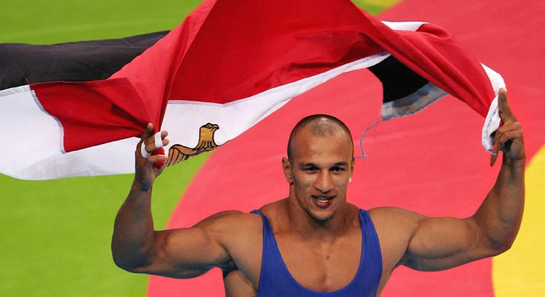 """المصارع المصري كرم جابر يغيب عن أولمبياد """"ريو 2016"""" بتأييد إيقافه دولياً حتى 2017"""