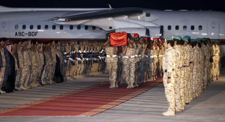 """البحرين تعلن مقتل 3 من أفرادها بقوات التحالف في """"حادث"""" على الحدود الجنوبية للسعودية"""