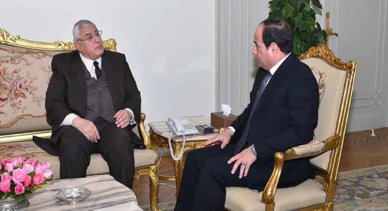 """مصر.. تصريحات منسوبة لمنصور تشعل التكهنات حول رئاسة البرلمان ويعتبر تعيينه """"أمراً رئاسياً"""""""
