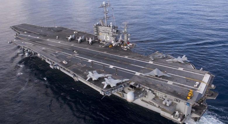 ناطق عسكري لـCNN: صاروخ إيراني يسقط على بعد 1300 متر من حاملة طائرات أمريكية بالخليج