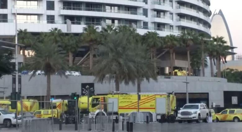 """خبير لـCNN: قرار حكومة دبي بإقامة الألعاب النارية بموعدها رغم حريق فندق """"العنوان"""" درس بإدارة الحشود"""