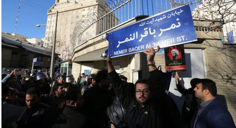 """الخارجية الإيرانية: السعودية لا يمكنها التغطية على """"خطأ"""" إعدام النمر بقطع العلاقات الدبلوماسية"""