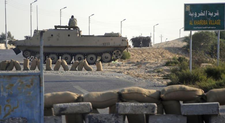 """الجيش المصري يعلن مقتل 29 """"تكفيرياً"""" ضمن المرحلة الثانية لعملية """"حق الشهيد"""" بسيناء"""