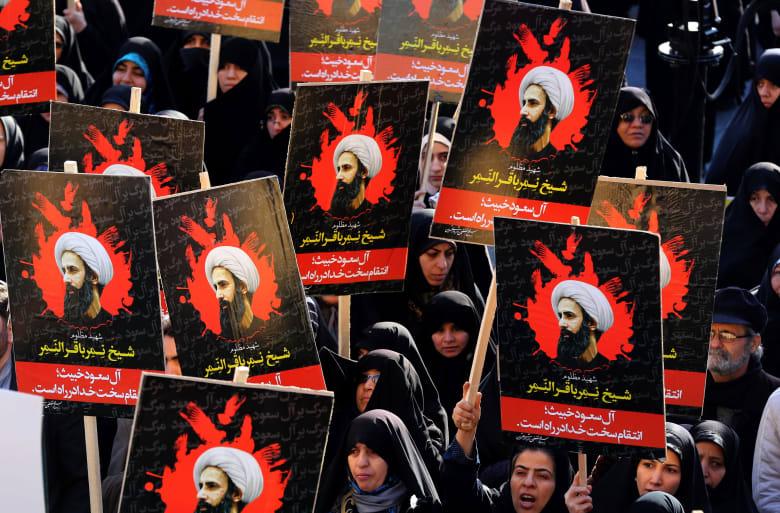 الرئيس الإيراني: قطع الرؤوس ليس ثمن النقد.. وقطع العلاقات لن يساعد السعودية في التغطية على إعدام النمر