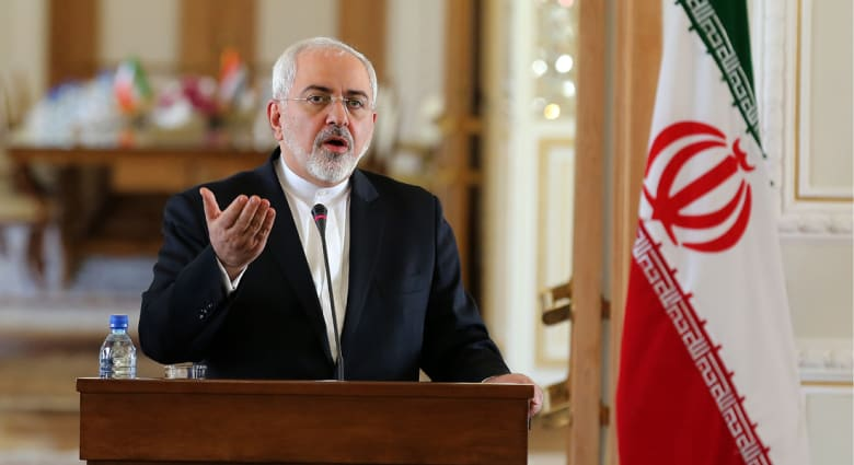 وزير الخارجية الإيراني: حل قضية البحارة الأمريكيين جاء بالحوار والاحترام وليس بالتهديد والتهور