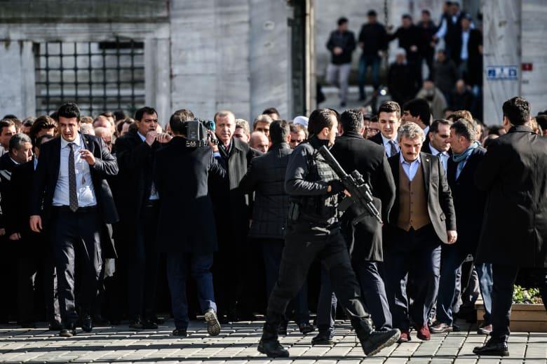 تركيا: اعتقال 10 أشخاص لمشاركتهم في تفجير ساحة السلطان أحمد