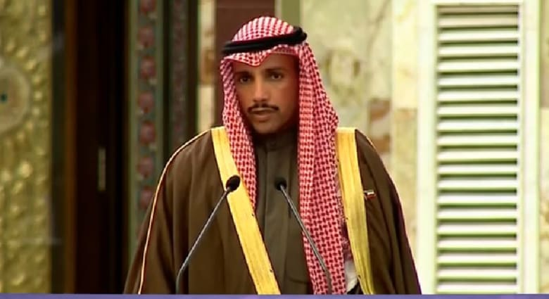 بعد اعتراضه على تصريحات لاريجاني عن السعودية.. مغردون لرئيس مجلس الأمة الكويتي: بيّض الله وجهك