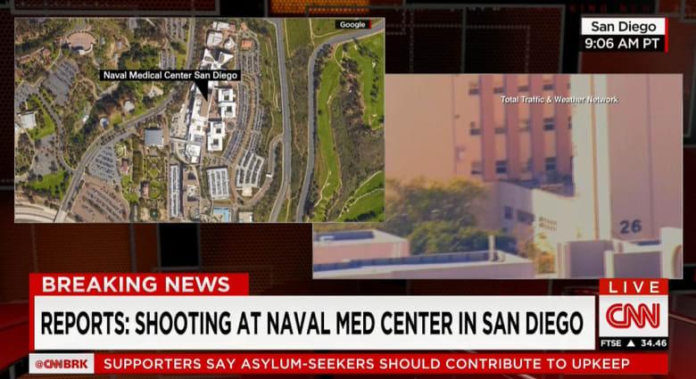 البحرية الأمريكية: المحققون لم يجدوا شيئا للآن يدعم بلاغ إطلاق النار بالمركز الصحي في سان دييغو