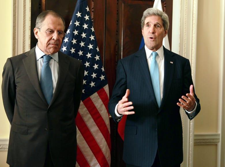 اجتماع ميونيخ: لحظة حاسمة للحل السياسي بسوريا.. وكيري ولافروف يناقشان خطة موسكو لوقف إطلاق النار