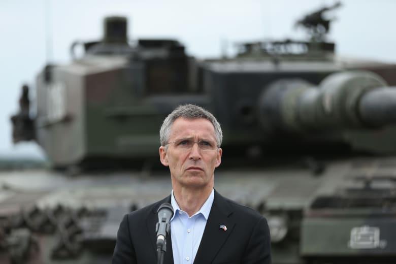 أمين عام الناتو: سنرسل مجموعة بحرية لبحر إيجة لوقف تهريب اللاجئين بطلب من تركيا وألمانيا واليونان