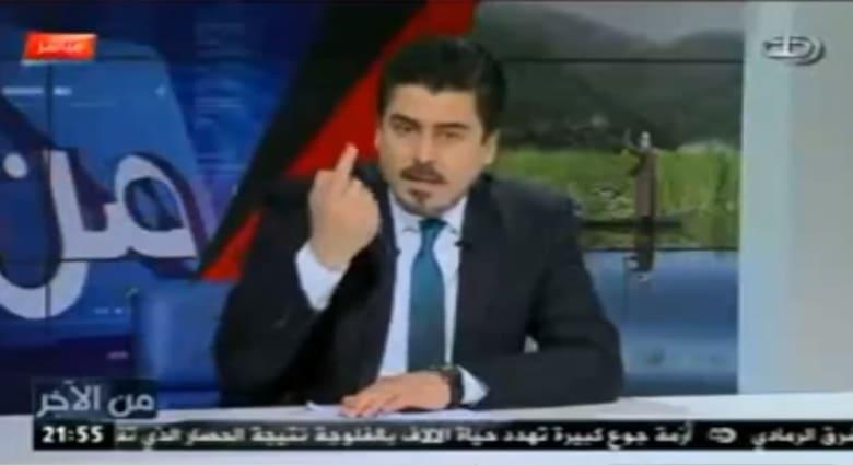 فيديو لمذيع عراقي يشكر سفير السعودية ثامر السبهان يثير ضجة