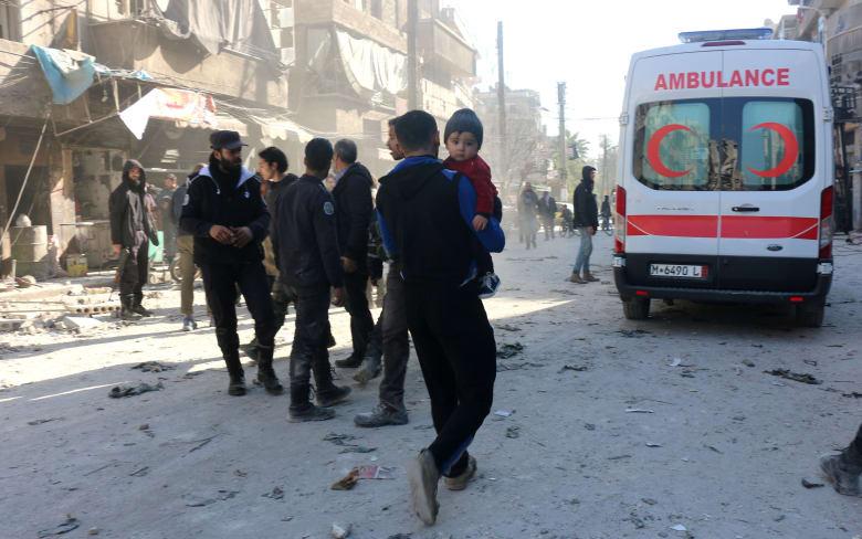 """مقتل 9 أشخاص في غارة جوية تستهدف مستشفى تدعمه """"أطباء بلا حدود"""" في سوريا"""
