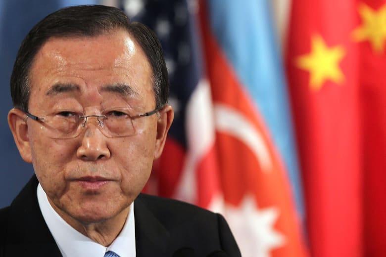 """بان كي مون: الهجمات الصاروخية على مستشفيات سوريا انتهاك صارخ للقوانين الدولية.. وفرنسا تراها """"جرائم حرب"""""""
