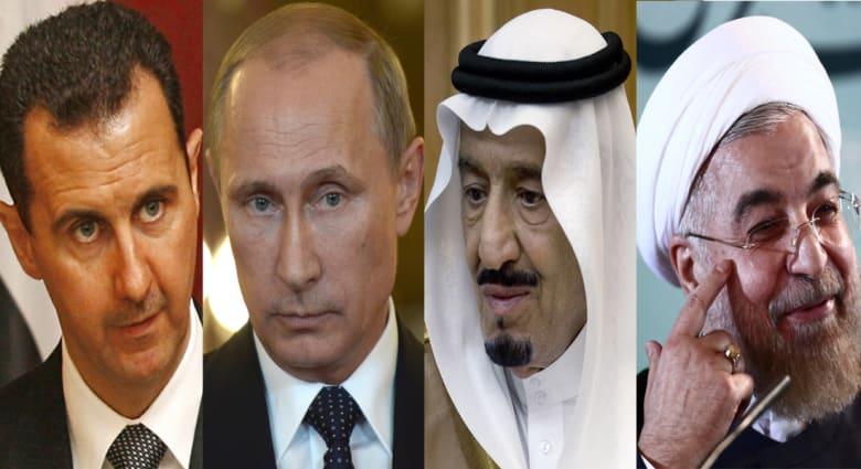 جولة اتصالات من بوتين إلى الأسد والملك سلمان وروحاني حول اتفاق وقف إطلاق النار في سوريا