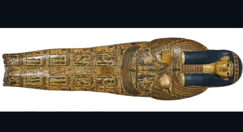 اكتشاف بصمات تعود لأكثر من 3 آلاف عام على تابوت فرعوني