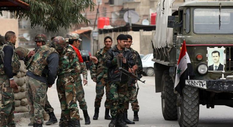 المرصد: حوادث عنف تشهدها عدة مناطق في سوريا بينها اشتباكات بين قوات النظام وثوار