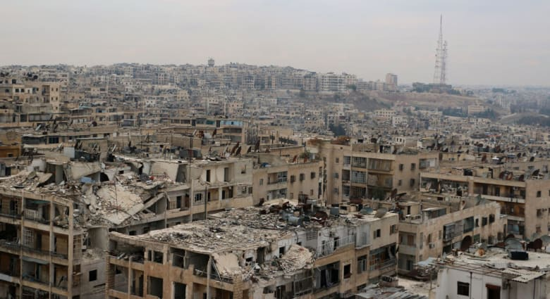 المرصد: تجدد الاشتباكات والقصف الجوي بريف حلب في سوريا
