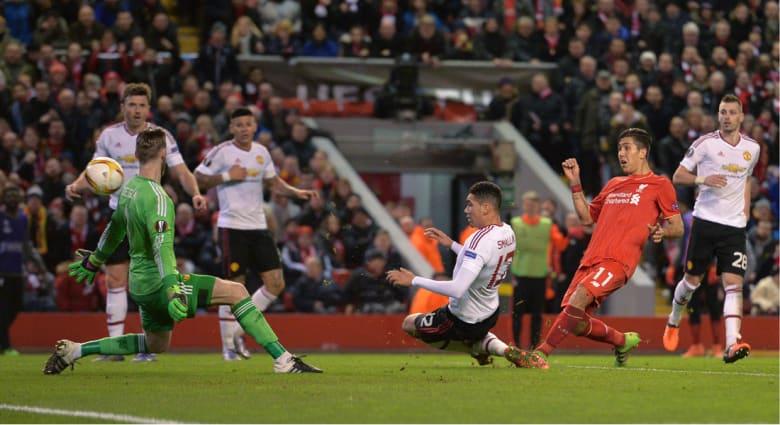 """ليفربول يهزم مانشستر يونايتد في أول مباراة أوروبية بينهما.. وينهي 50 عاماً من تفوق """"الشياطين الحمر"""""""
