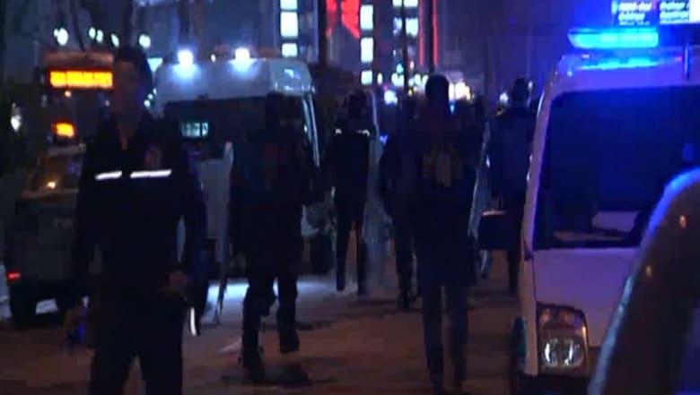 شاهد.. اللحظات الأولى بعد انفجار في العاصمة التركية أسقط أكثر من 100 قتيل ومصاب