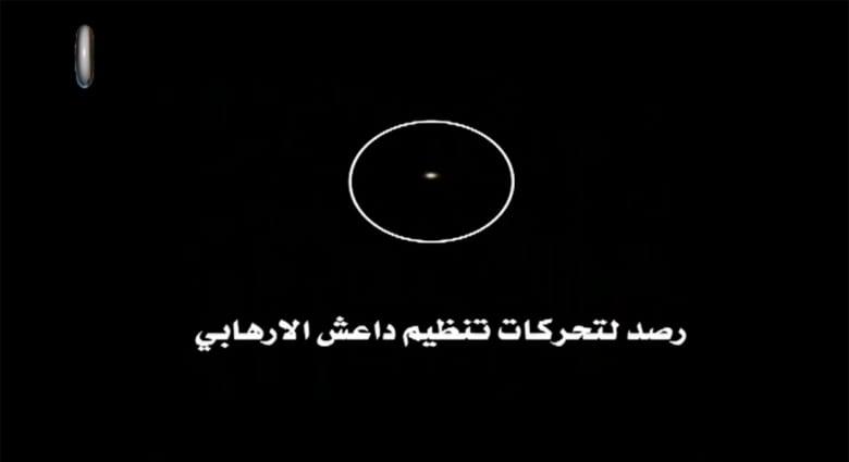 الدفاع العراقية تنشر فيديو لاستهداف مركبة لداعش بقذيفة من دبابة أبرامز