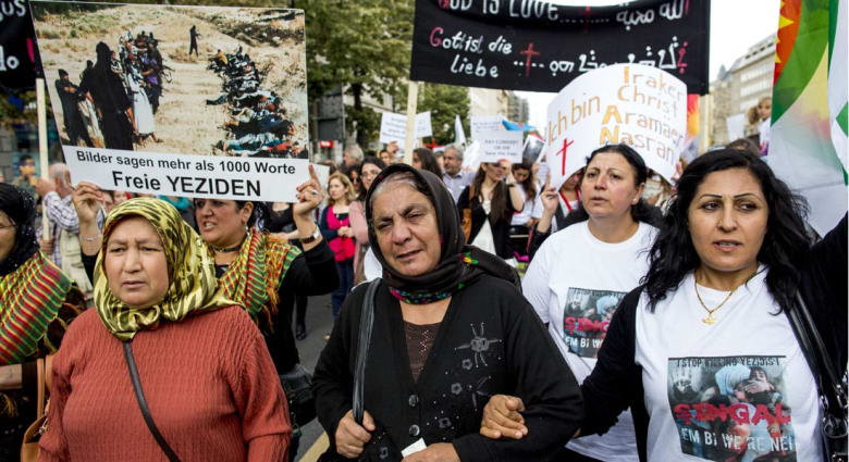 """واشنطن تتهم """"داعش"""" بارتكاب جرائم """"تطهير عرقي"""" ضد المسيحيين والأيزيديين والشيعة في سوريا والعراق"""