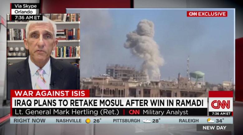 """الجيش العراقي: غارات جوية قتلت مسلحين من """"داعش"""" في جامعة الموصل"""